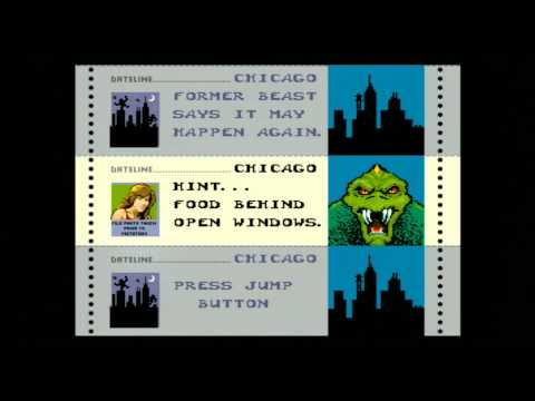 Classic Game Room - RAMPAGE for arcade / PC review