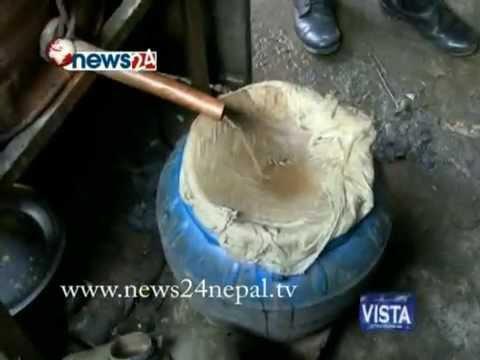 काठमाडौंको जंगलभित्र कसरी संचालन गरिन्छ अवैध र प्रदुषित रक्सी भट्टी... - HATHKADI