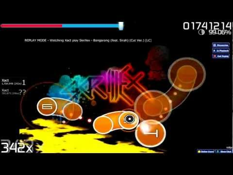 Osu Gameplay - Skrillex - Bangarang [LC] (S Rank)