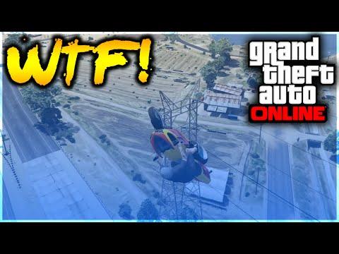 GTA 5 Stunts - WTF! Legendary Motorcycle Mountain Glide Stunt! (GTA 5 Stunt Challenge)