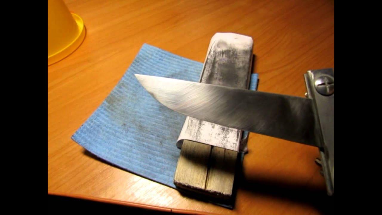 Шлифовка ножа своими руками