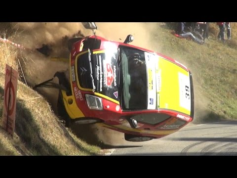 57° Rallye Int. du Valais 2016 - Crash, Jumps & Pure Sound [HD]