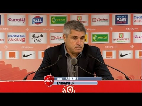 image vido  Confrence de presse Stade Brestois 29 - Valenciennes FC (2-1)