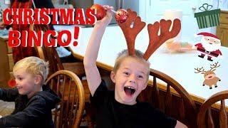 Christmas BINGO and Crafts with Kids