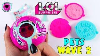 APRO DUE NUOVE LOL SURPRISE PETS Wave 2! TROPPO BELLE!