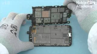 Disassembly Full Nokia Lumia 822