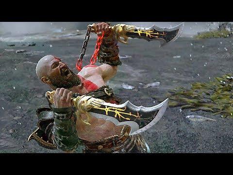God Of War 4 Kratos & Atreus All Special Attacks (All Runic Attacks) PS4