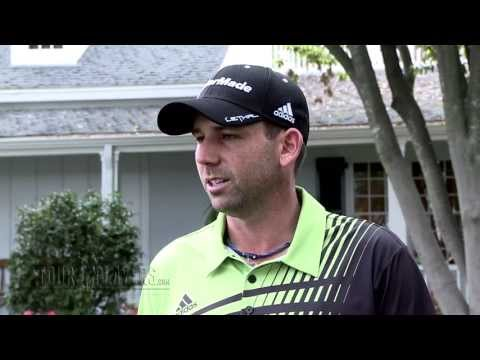 Sergio Garcia: 2013 The Masters Tournament Round 1