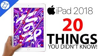 NEW iPad (2018) - 20 Things You Didn't Know!