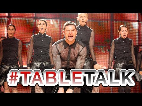 Pitch Perfect's Flula Stops by TableTalk