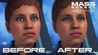 Mass Effect Andromeda Patch 1.05 Changes | Before & After
