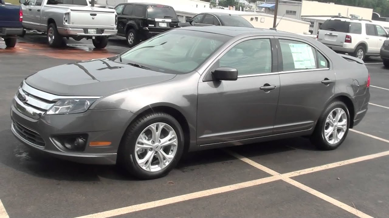 2012 Ford Fusion For Sale >> FOR SALE NEW 2012 FORD FUSION SE!! STK# 20013 - YouTube