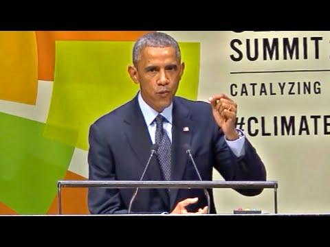 President Obama's 2014 UN Climate Summit Speech