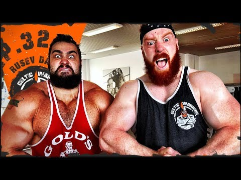 Ep.32 Rusev Day Push & Pull Workout...