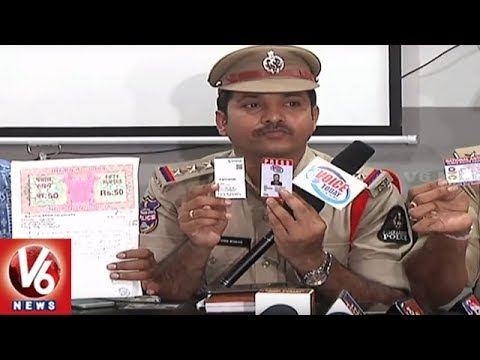Hyderabad Police Arrests 6 Fake ACB Officials For Extorting RTA Employee | V6 News