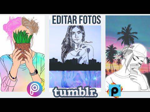 efectos TUMBLR creativos que puedes hacer con la app de PicsArt