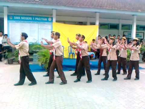 Senam Komando Pramuka SMK Negeri 1 Pacitan.mp4