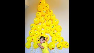 Baby Photoshoot Ideas DIY At Home-World Emoji Day July 17 ,2018 Vid 14 Cute Simple Emoji Easy