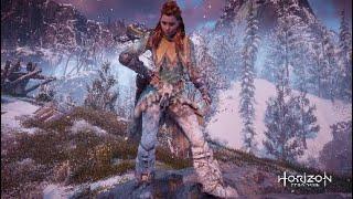 Horizon Zero Dawn- ALL BANUK OUTFITS AND WEAPONS- Frozen Wilds DLC