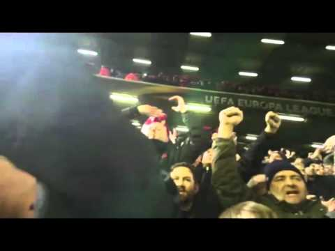 Liverpool 2-0 Manchester United   Away Fans Chants
