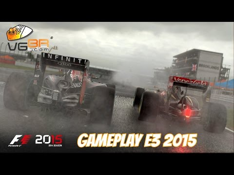 F1 2015 Game Lewis Hamilton Perfect Race Interlagos PC Gameplay