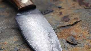 Making a Knife With Bird Shot