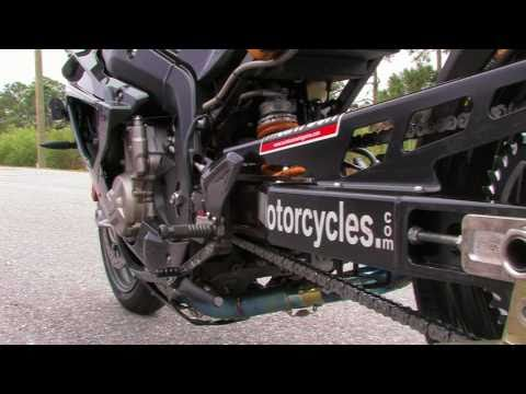 BMW S1000RR Runs a 8.44et at 161mph in 1/4 mile! Stock Engine!