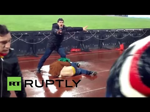 Russia: Brutal clashes erupt between Moscow and Tula footy fans