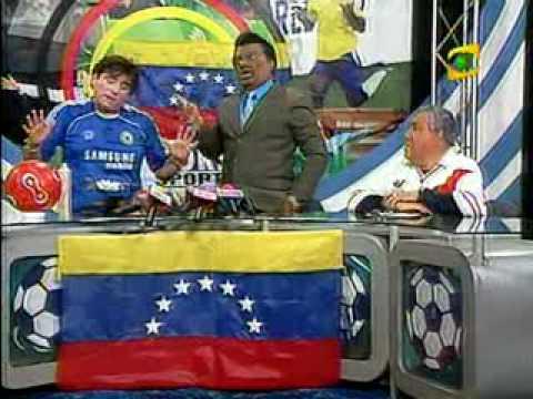 Profe Jeta Jeta Uribe y Claudio Pizarro en Foks Sports 1/2