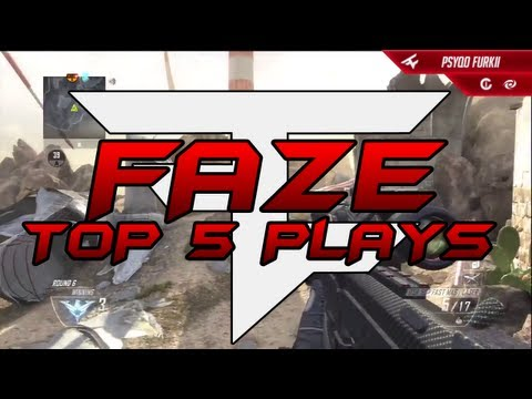 FaZe Top 5 - Black Ops 2 Episode #1 w/ FaZe Temperrr
