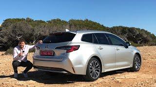 Im 2019 Toyota Corolla Touring Sports 1.8 Hybrid - auf Mallorca | Fahrbericht | Review | Testdrive.