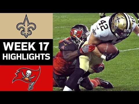 Saints vs. Buccaneers | NFL Week 17 Game Highlights
