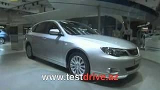 Subaru Impreza 1.5 vs Mitsubishi Lancer X 1.8i  - Тест-драйв