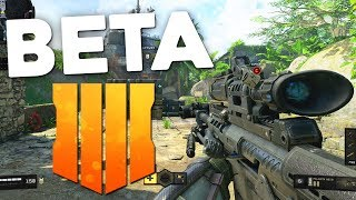 Black Ops 4 Beta IS OUT RIGHT NOW! (Call of Duty: Black Ops 4 Gameplay)
