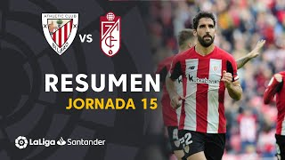 Resumen de Athletic Club vs Granada CF (2-0)