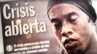 Ronaldinho La abdicación de un rey   THE ABDICATION OF THE KING   Informe robinson crusoe