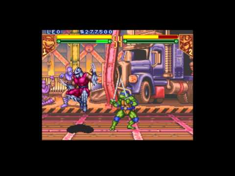 Teenage Mutant Ninja Turtles: Tournament Fighters - Leonardo