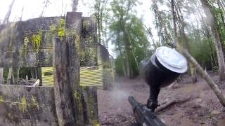 Paintball - Delta Force Cardiff - 'Command Post' 2nd Scenario Game 2