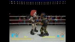 MTV's Celebrity Deathmatch (PS2 Gameplay)