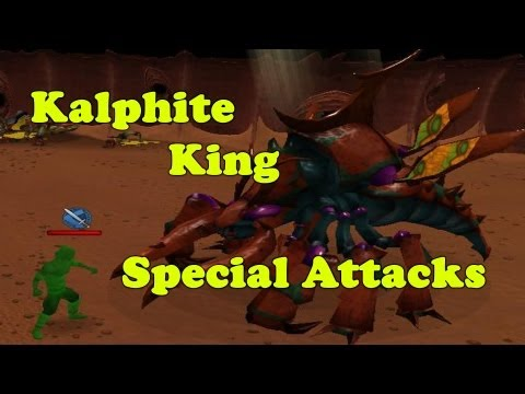 Runescape – Kalphite King's Special Attack Guide – w/Drop + HD
