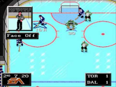 NHL 94- Toronto Maple Leafs vs. Dallas Stars