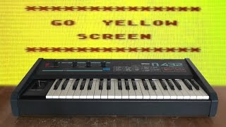 Форманта П-432 ft. Atari 800XL - Go Go Yellow Screen