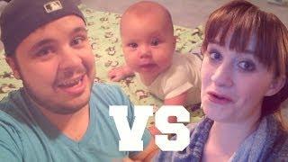 MOM VS DAD! (1.5.14 - Day 345)