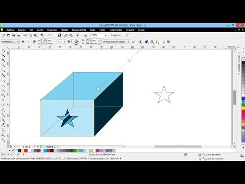 Curso Introducción a CorelDraw X6 - 61 La Herramienta de Extrusión