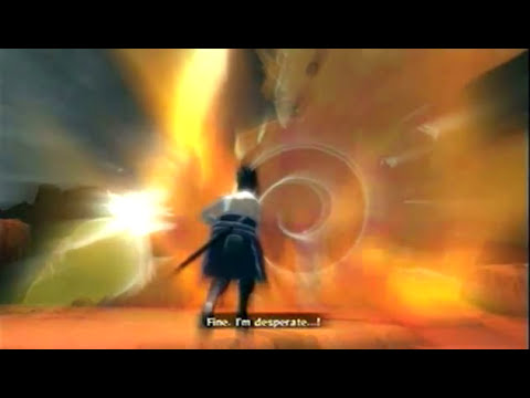 Naruto Shippuden Ultimate Ninja Storm 2 - Sasuke vs Itachi (Full Fight) + cutscene after