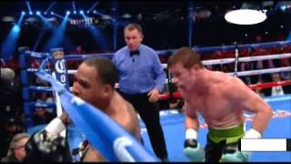 Saul Alvarez vs James Kirkland KO