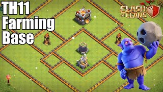 BEST! Farming Base Town Hall 11 (TH11) 2020! - Farming Base With Link Clash of Clans