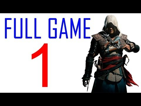 Assassin's creed 4 walkthrough - Part 1 Gameplay Let's play PS4 XBOX PC AC4 Black Flag No Commentary