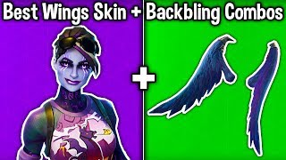 10 BEST 'WINGS' SKIN + BACKBLING COMBOS In Fortnite! (these Are The Best Combos)