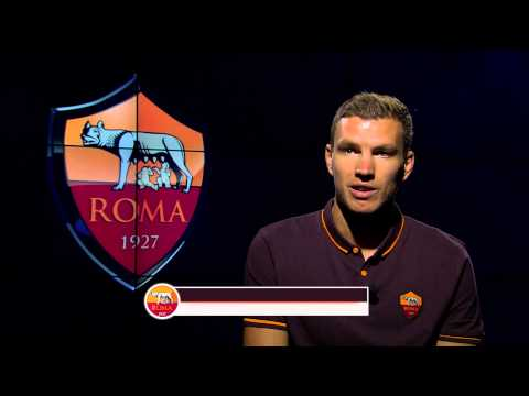 Edin Dzeko: The first AS Roma interview
